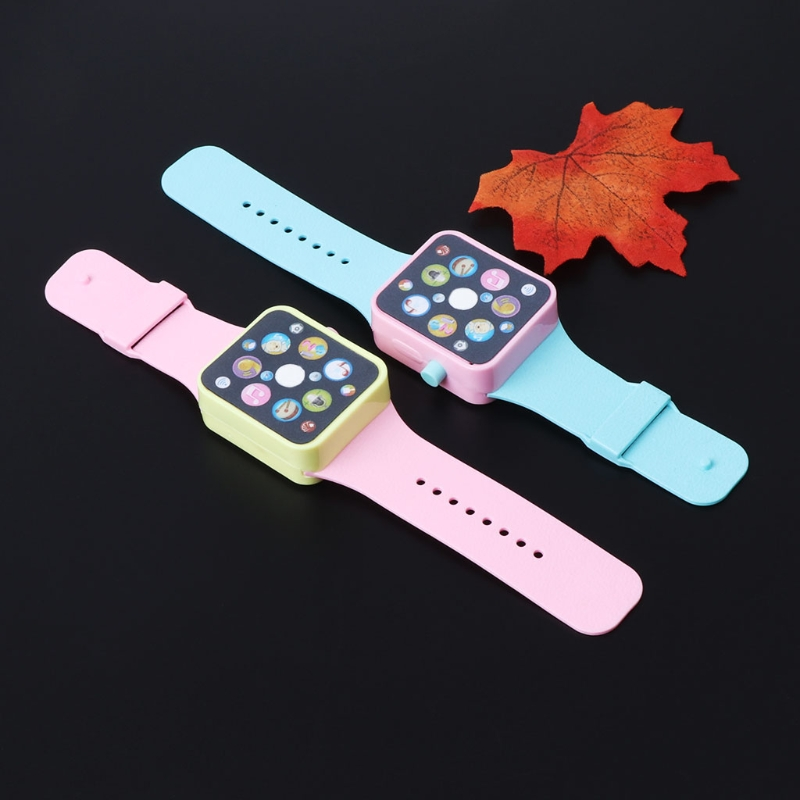 Smart Watch Early Education Music Learning Machine Wristwatch Toy Kids Children 72XC