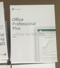 Microsoft Office 2019 casa de negocios/Pro Plus PKC/casa estudiante 2016 caja de Windows 10 tarjeta profesional mundial licencia