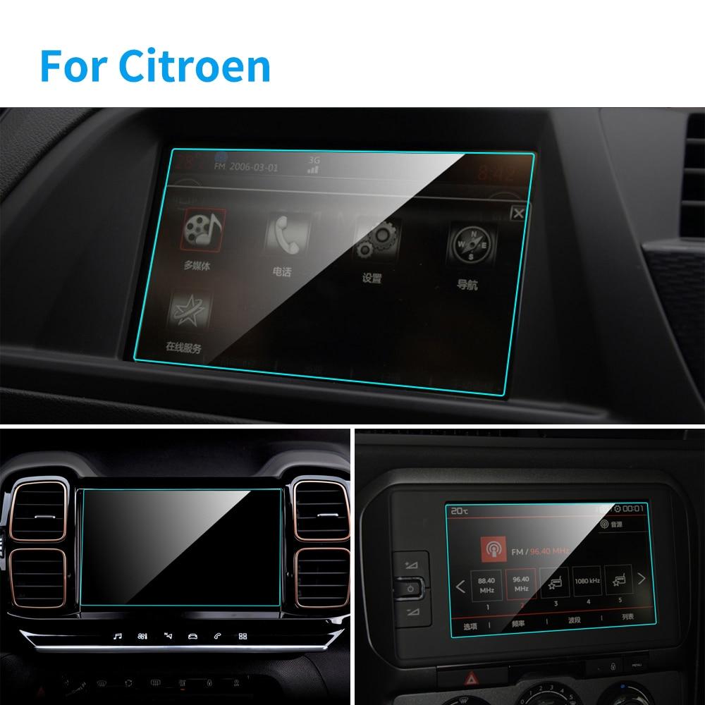 TPU Car Screen Protector Interior Car GPS Navigation TPU Protect Vinyl Film For Citroen C5 Aircross C3-XR C4 C5 C4L Accessories