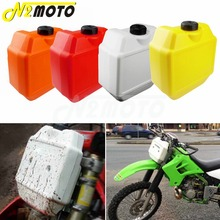 Motocross Dirt Bike Auxiliary Fuel Tanks 1.3 Gallon Off Road Gas Oil Tank for Suzuki Kawasaki Yamaha Ducati Plastic Gas Tank