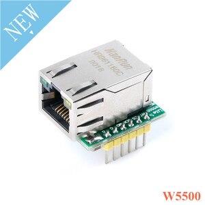 USR-ES1 W5500 Ethernet сетевой модуль микроконтроллер для Arduino конвертер TCP/IP 51/STM32 SPI интерфейс 3, 3 V 5V I/O WIZ820io