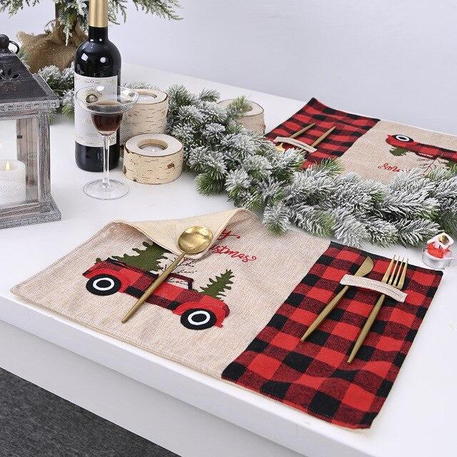 Фото праздничный рождественский декор автомобильная посуда прочная цена