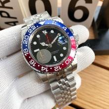 Men's Luxury Sports Automatic Mechanical Watch 904L steel sapphire glass
