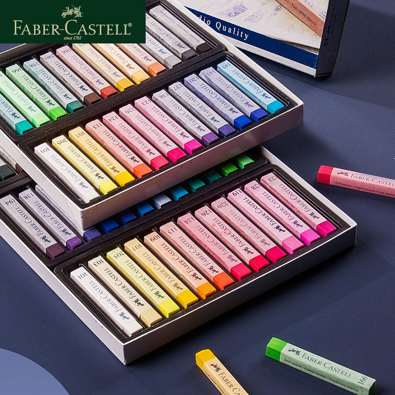 Faber Castell 12 /24 /36/48/72 Colors Long And Short Styles Color Brushes Hand-painted Art Supplies