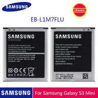 SAMSUNG Originale EB-L1M7FLU Batteria Del Telefono 1500mAh Per Samsung Galaxy S3 Mini S3Mini GT-I8190 I8190 I8190N GT-i8200 i8200
