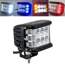 1 sztuk 4 Cal akcesoria samochodowe światła samochodowe Bar 45 W Led strąki jazdy mgła Off-road LED światło robocze boczne Shooter światło robocze ciężarówka SUV