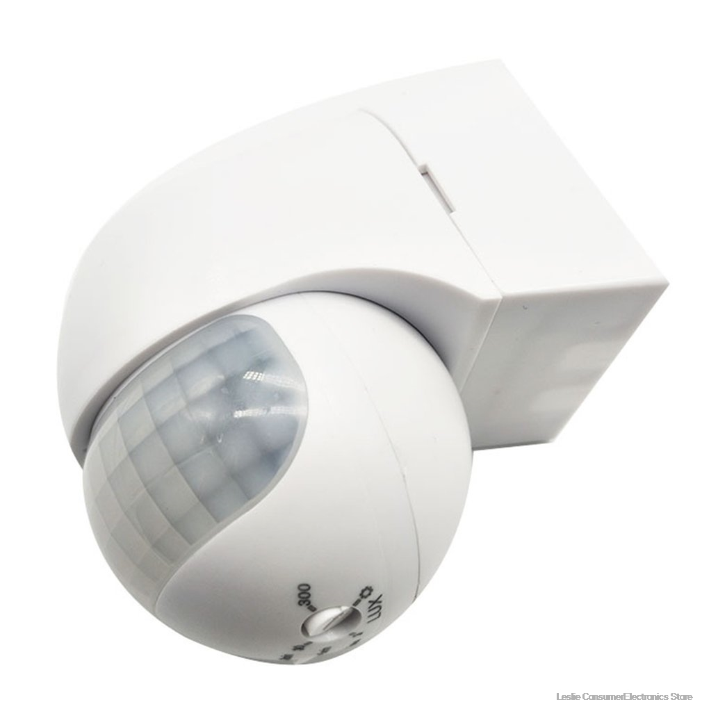 Smart PIR Motion Sensor Switch AC 110V - 240V Recessed Infrared Auto Control ON/Off Wall Switch Human Body Induction