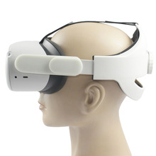 Supporting Oculus Quest Access Virtual for 2-Head-Strap Comfort Improve Increase Adjustable
