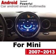 Mini escotilla uno Cooper S D R56 2007, 2008, 2009, 2010, 2011, 2012, 2013 coche Multimedia player GPS Radio de Audio navegación NAVI