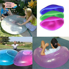 6 Colors Hot Durable Bubble Ball Inflatable Fun Ball Amazing Tear-Resistant Super Wubble Bubble Ball Inflatable Outdoor Balls