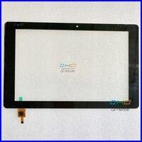 Alta qualidade preto novo para 10.1 zFPC-10A24-V03 zjx touch screen digitador sensor de vidro peças reposição frete grátis