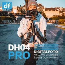 DH04 PRO 3 axis Gimbal stabilizer Spring Dual Handle 4.5kg bear with strap for RONIN S/SC WEEBILL S&LAB CRANE 3/3S Moza Air 2