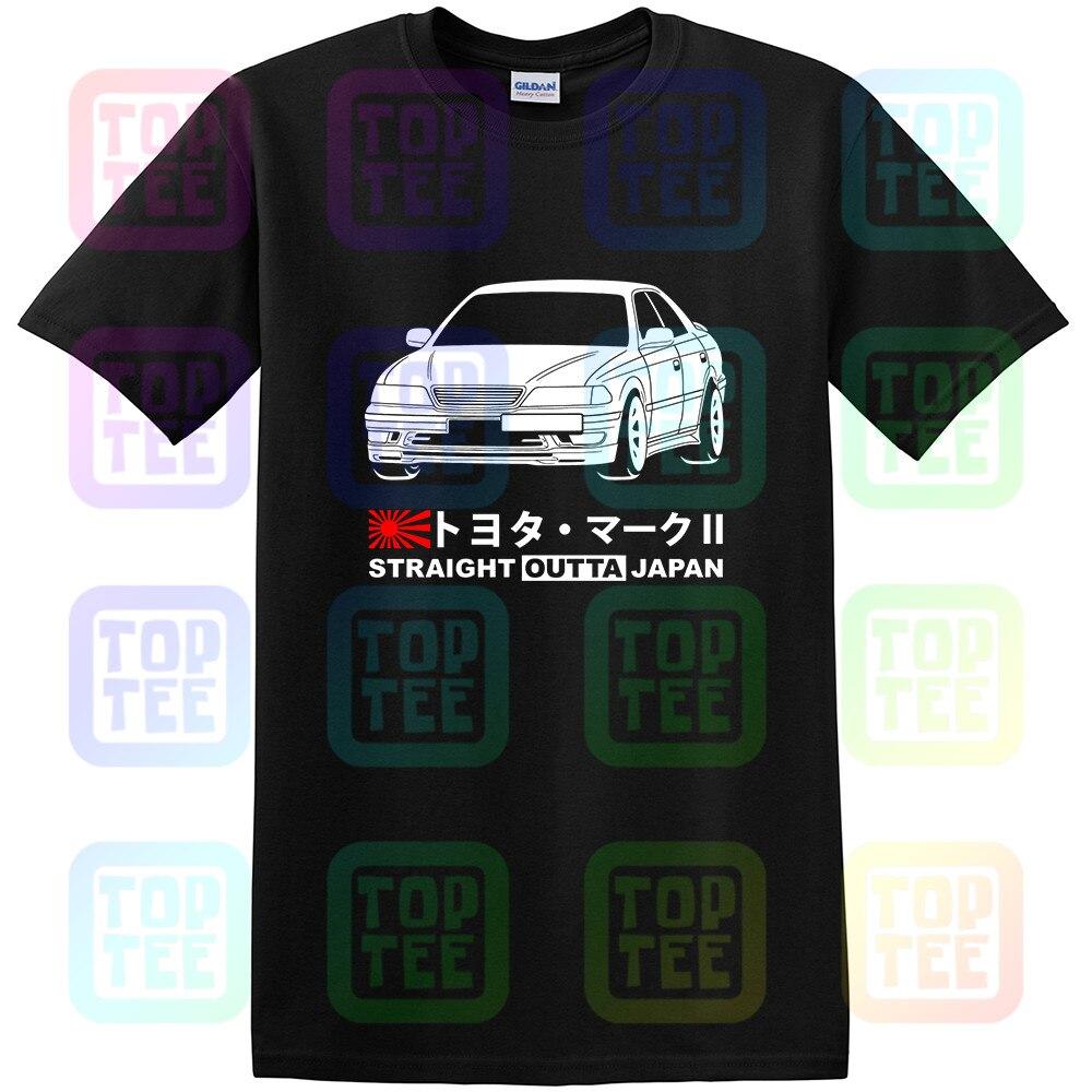 GT-shirt Toyota Mark 2 Tourer V JZX100 Tshirt Tee