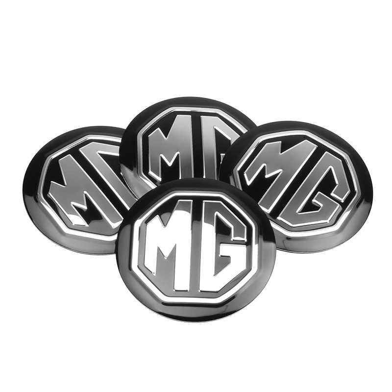 4 Pcs 56 Mm Mobil Roda Pusat Hub Caps Cover Rim Stiker untuk MG 3 5 6 7 Morris GS GT MG350 MG3SW ZS Garasi TF Ban Aksesoris