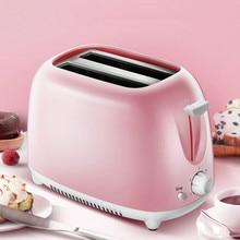 Автоматический Электрический тостер 2 ломтика слот тосты выпечки печь подогреватель гриля мини Сэндвич Машина для завтрака хлебопечка ЕС вилка