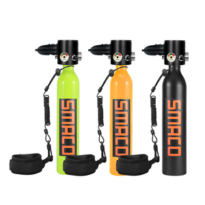 Smaco Scuba Diving Tank Dive Oxygen Cylinder Air Tank Scuba Respirator Refill Adapter Snorkeling Breathing Equipment(China)
