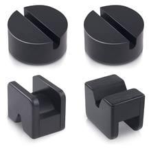 2020 nouveau 4 pièces plancher Jack Pad adaptateur pour support de cric en caoutchouc fendu cadre soudures protecteur