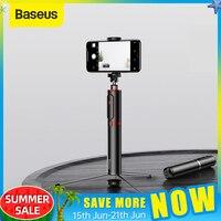 Портативная ручная селфи-палка Baseus, Bluetooth трипод для смартфона и камеры с беспроводным дистанционным управлением для iPhone, Samsung, Huawei, Android