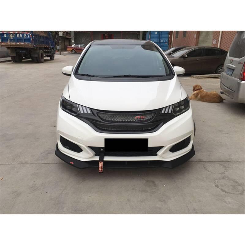 Sticker Coche Stijl Molding Accessoires Bumper Protector Parachoques Auto Modificatie Styling Mouldings 18 Voor Honda Fit - 3