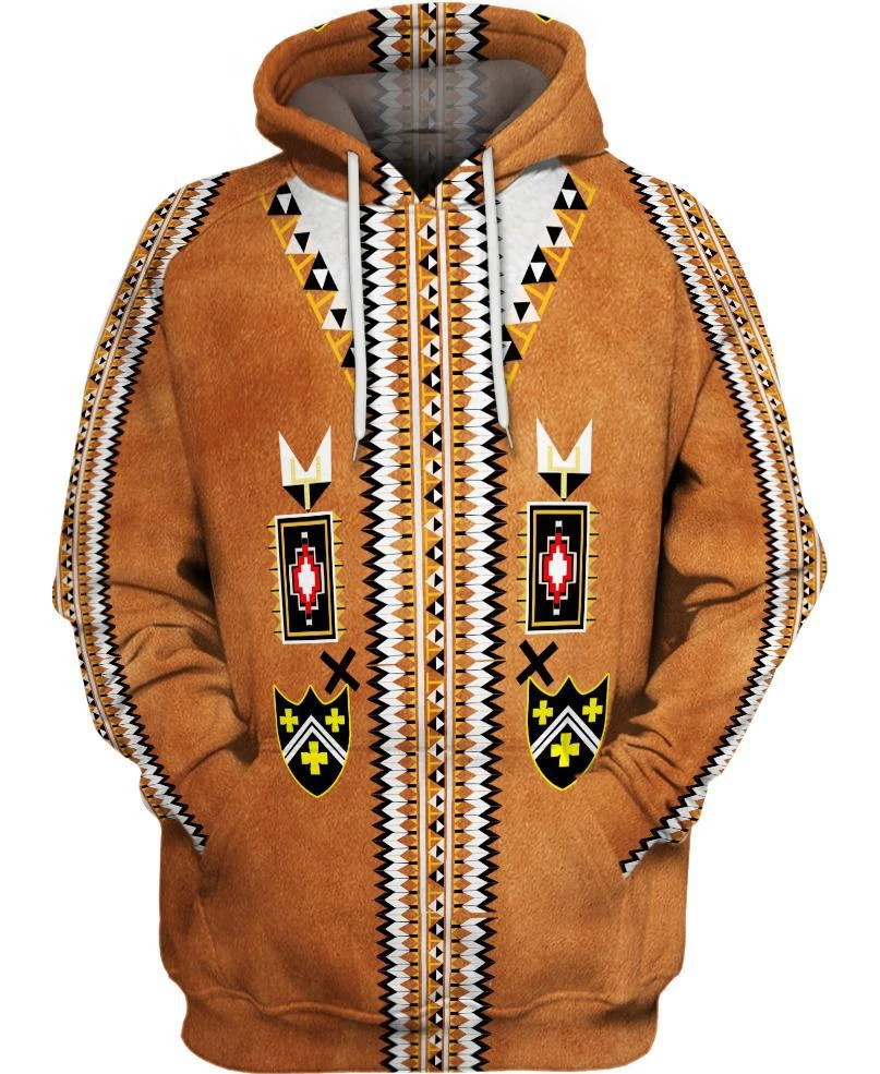 hot sale Native Indian 3D Hoodies/sweatshirts Men Women New Fashion Hooded winter Autumn Long Sleeve streetwear Pullover-5