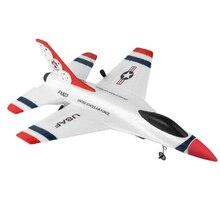 Дети пульт дистанционного Управление Радиоуправляемый игрушечный самолёт 2,4G США F-16 Fighter борьба модель Тысячелетнего Сокола