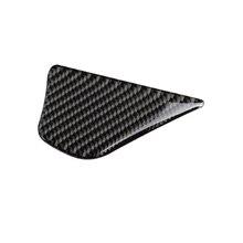 Обложка дверной ручки 92x50 мм, отделка из углеродного волокна для Mercedes-Benz W205 C180 GLC260, комплект для внутренней отделки