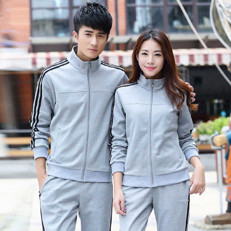 Sports Set Men's Spring And Autumn Youth Sports Clothing Women's Casual Couples Sportswear Large Size Running Sports Clothing Me