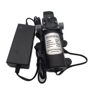 Сад туман насос 12V 60 Вт микро электрический мембранный Водяной спрей на случай запотевания стекол можно использовать насос для орошения