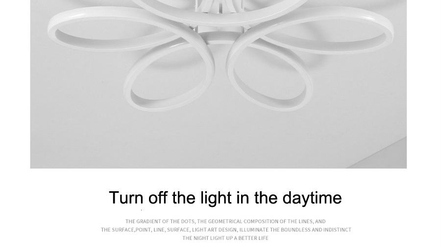 Had28508da8814084b1154c335614cddau Living room ceiling lamp led dimmable for bedroom aluminum body indoor lighting fixture plafonnier led lights dining room