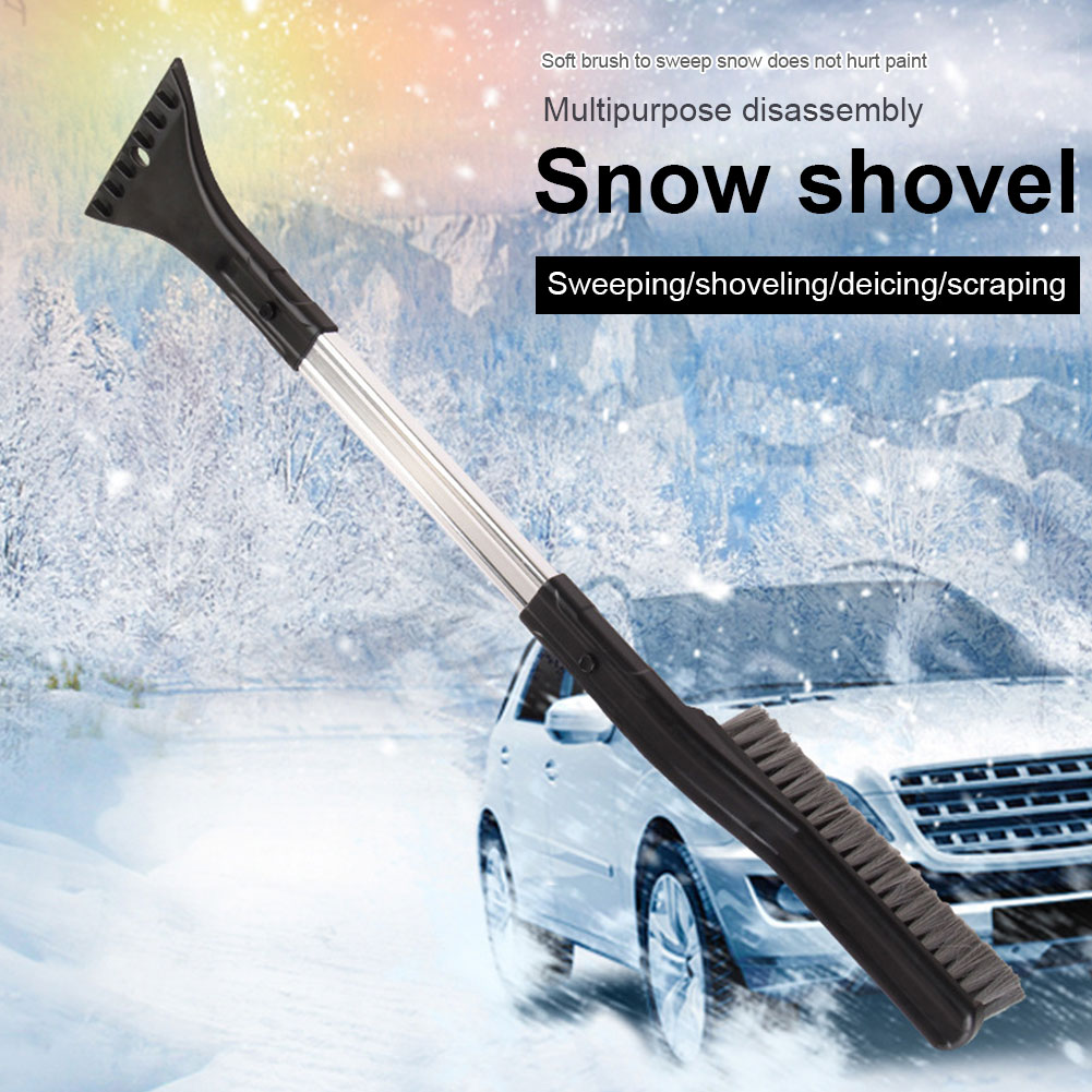 Snow Removal Ice Scraper Windshield Multifunctional Snow Brushes Broom Car Tools