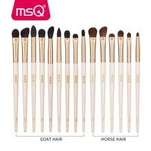 MSQ один глаз кисти для макияжа Набор теней для век консилер смешивания нос мульти-Функция кистей для макияжа инструмент Наборы Коза/шланг для волос