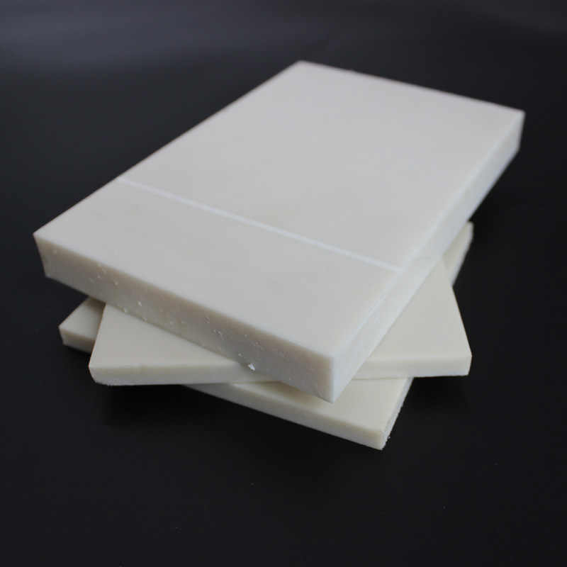 PA6 لوح نايلون أبيض هندسة لوح كتلة