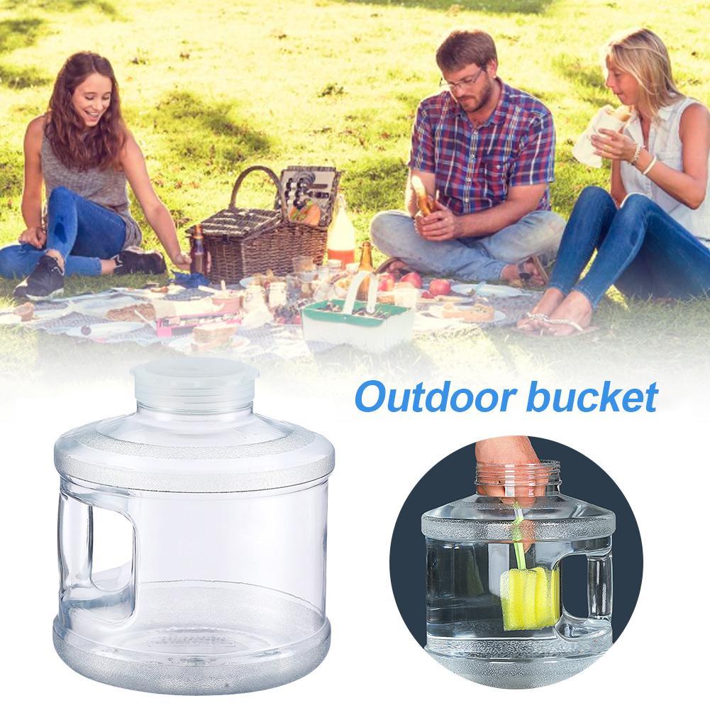 Food Grade PC 7.5L Car Bucket Round Bucket High Temperature Resistant And Easy To Clean Car Camping Bucket Food Plastic Barrels|Car Bucket|   - AliExpress