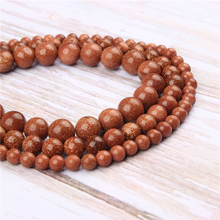 Wholesale Sands Natural Stone Beads Round Beads Loose Beads For Making Diy Bracelet Necklace 4/6/8/10/12MM