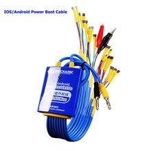 Cable de alimentación para iphone, Huawei, Xiaomi y Samsung, Cable de alimentación de prueba mecánico para Android e IOS