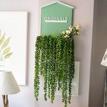 Artificial Plant String Wall Hanging 72CM Fake Simulation Succulents Lifelike Nature Garland Flexible Home Hotel Decor #