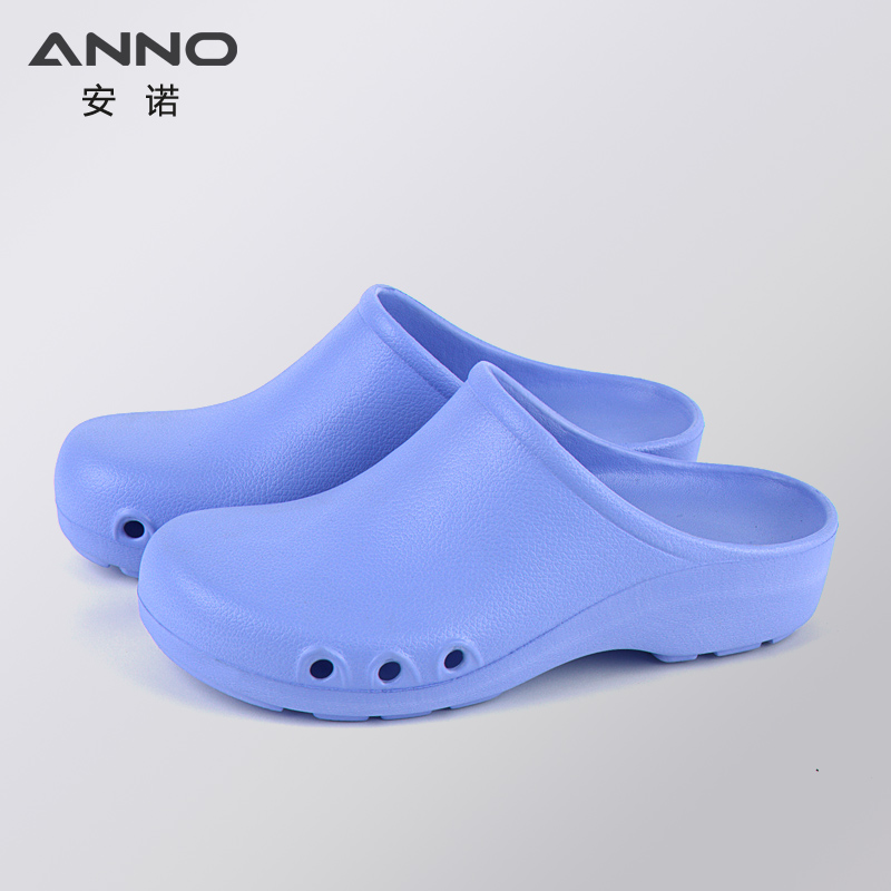 Image 5 - ANNO Soft Medical Doctors Nurses Surgical Shoes Anti slip Protective Clogs Operating Room Lab Slippers Chef Work Flat flip flopAccessories   -