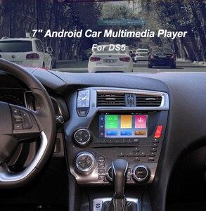 Image 2 - Quad Core אנדרואיד 6.0 1024*600 רכב DVD סטריאו עבור סיטרואן DS5 אוטומטי רדיו GPS ניווט אודיו וידאו  wiFi