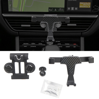 Car Dashboard GPS Cell Phone Mount For Porsche Cayenne 2019 2020 Bracket Stand Holder Support Accessories image