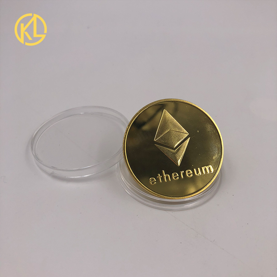 Bitcoin/Ethereum/Litecoin/Dash/Ripple/Monero/EOS coin 18 kind of Metal Physical silver/gold Plated Commemorative BTC Coin-5