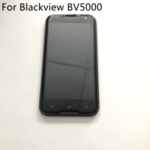 цена на Blackview BV5000 Used LCD Display Screen + Touch Screen + Frame For Blackview BV5000 MTK6735 Quad Core 5.0 1280x720 Smartphone