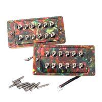 2Pcs Guitar Pickups Ceramic Magnets Electric Double Coil Humbucker Pickups