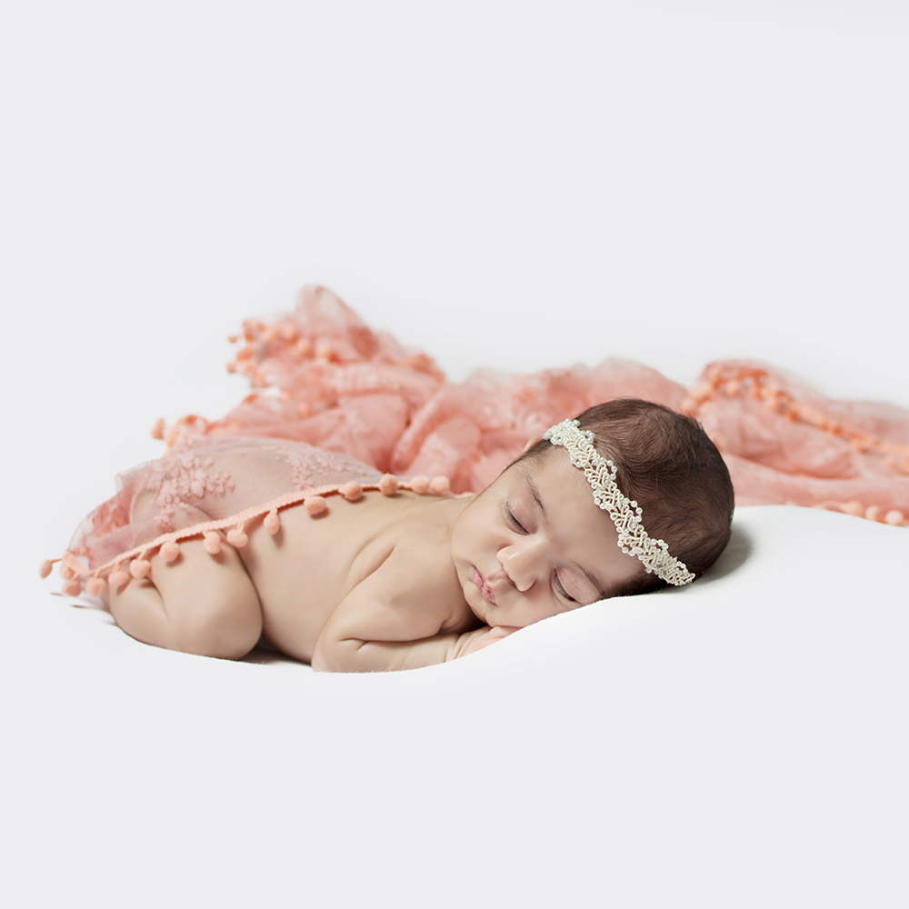Don&Judy Handmade Blanket+Lace Wrap+Headband Set Soft Layer 100% Wool Felt Fleece Basket Filler Newborn Baby Photography Props
