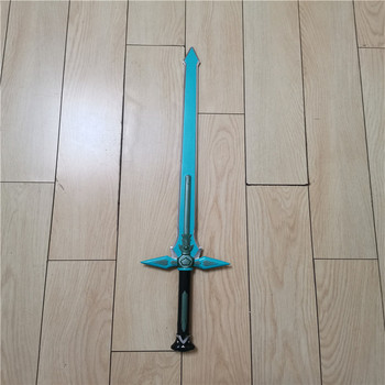 цена на Sword Art Online SAO 1:1  Dark Repulser/Elucidator Kirito Sword Kirigaya Kazuto Cosplay Prop Yuuki Asuna Cosplay  PU Sword  80cm