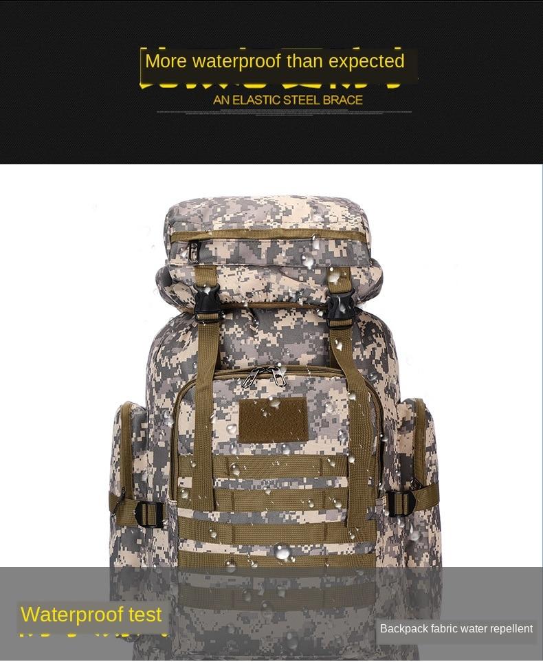 esportes mochila impermeável caminhadas saco mochila ajustável