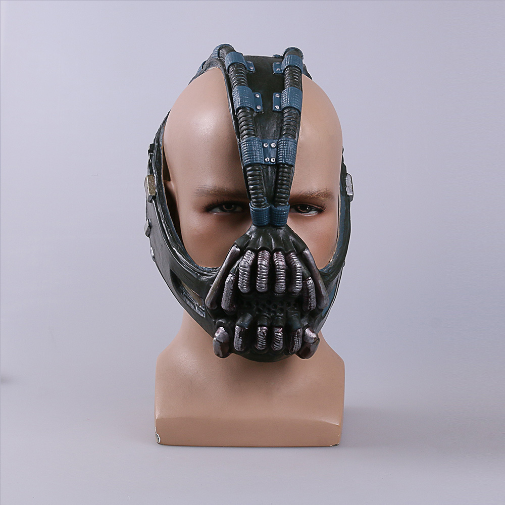 Cos Bane Masks Batman Movie Cosplay Props The Dark Knight Latex Mask Fullhead Breathable For Halloween