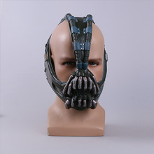 Cos Bane Masks Batman Movie Cosplay Props The Dark Knight Latex Mask Fullhead Breathable for Halloween