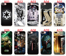Tempered Glass Case Soft Bumper Hard Funda Print Star Wars For iPhone 11 Pro X XS Max XR 6 6S 7 8 Plus 5S Phone Case(China)