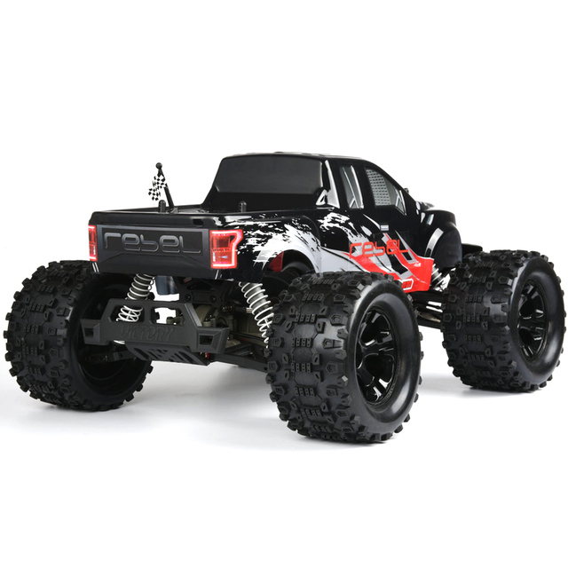 FS Racing 1:10 Bigfoot Car 4WD High Speed Brushless Remote Control Car with Body ESC Motor 2.4G Remote Control - RTR Version 1
