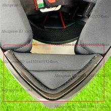 K1 k3sv capacete acessório queixo proteção peças k1 k3 sv cortina queixo